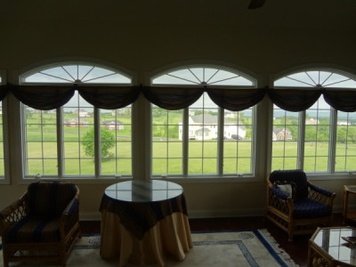 residential windows with solar protection window film